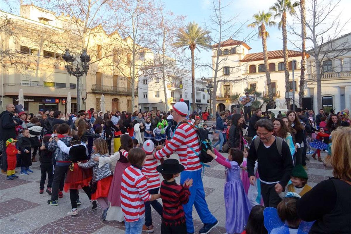 Èxit de participació al carnaval infantil
